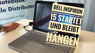 Dell Inspiron startet und bleibt hängen