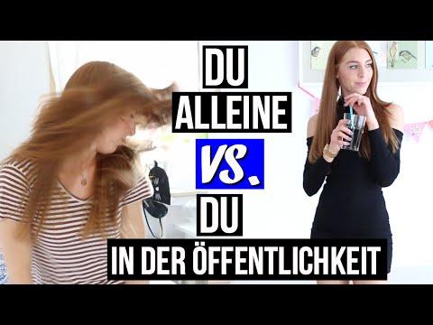 MÄDCHEN IN DER ÖFFENTLICHKEIT vs. MÄDCHEN PRIVAT! | LaurenCocoXO