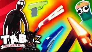 ALL SECRET GUNS + KING ZOMBIE! | Totally Accurate Battle Zombielator (TABZ) Gameplay
