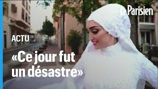 Un an après, la mariée devenue symbole de l'explosion de Beyrouth n'a pas pu se reconstruire