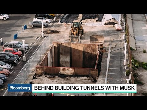 Elon Musk Digs in on Tunnel Project to Skirt Gridlock