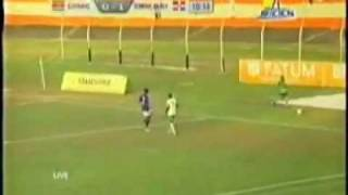 WK-kwalificatie 2014, Suriname vs. Dominican Republic (1ste Helft) (1-3)