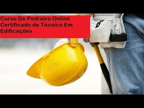 Vídeo Curso de pedreiro online