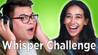 Strangers Play The Whisper Challenge