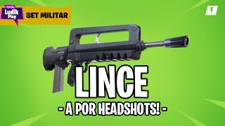 LINCE: A FOR HEADSHOTS! MILITARY SET ? FORTNITE SAVE THE WORLD Guide