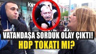 Kemal Kılıçdaroğlu'na Neden Saldırıldı? Vatandaşa Sorduk Olay Çıktı!