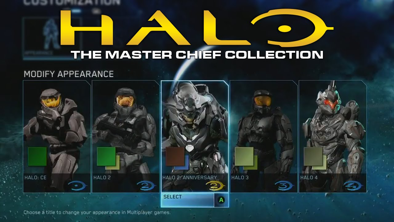 Halo The Master Chief Collection Armor Customization