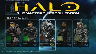 Halo: The Master Chief Collection Armor Customization!