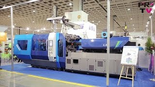 Hybrid Electric Injection Molding Machine by FCS - Taipei Plas 2016 - Extended