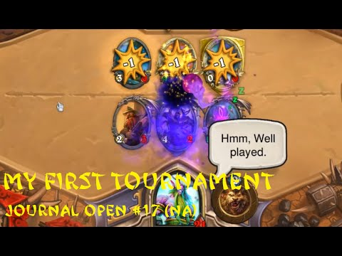 [Hearthstone] Journal Open #17 (NA) - Part 1 of 2 - Mixed Results