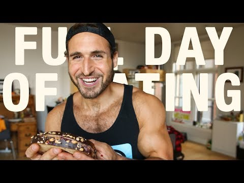 FULL DAY OF EATING FOR GAINING MUSCLE AND LOSING FAT  - BODY RECOMP #1