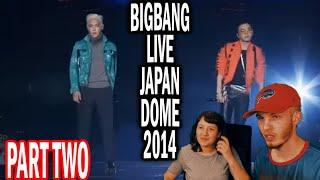 BIGBANG JAPAN DOME TOUR X 2014 PART TWO (COUPLE REACTION!)