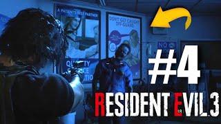 EM BUSCA DA VACINA! - RESIDENT EVIL 3 REMAKE - (PARTE 4)