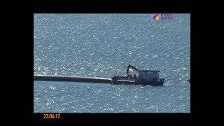Труба глубоководного выпуска вновь дрейфует вдоль побережья