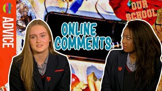 Our School students on... Online Comments
