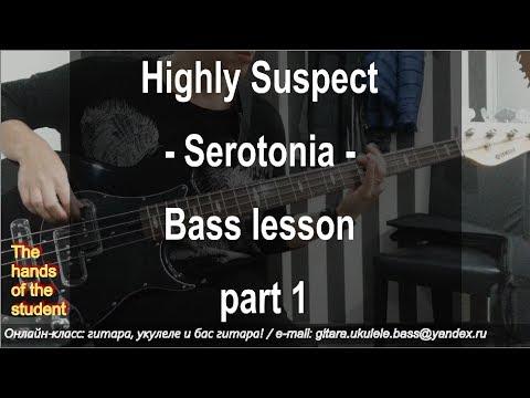Highly Suspect - Serotonia - Bass lesson - part 1 - ученица Катя