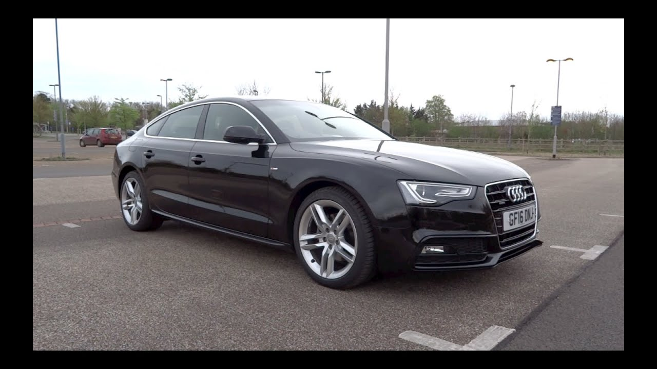2016 audi a5 sportback 2 0 tdi 190 quattro s line start up and full vehicle tour youtube. Black Bedroom Furniture Sets. Home Design Ideas