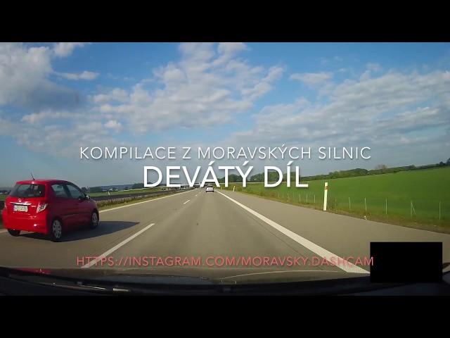 Kompilace z moravských silnic [#09] - naboural do značky a mnoho dalšího