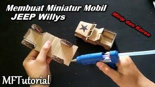 Cara Membuat Miniatur Mobil Jeep Dari Kardus | Ide Kreatif