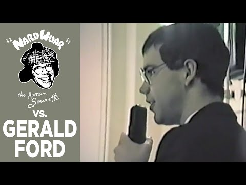 Nardwuar vs. Gerald Ford