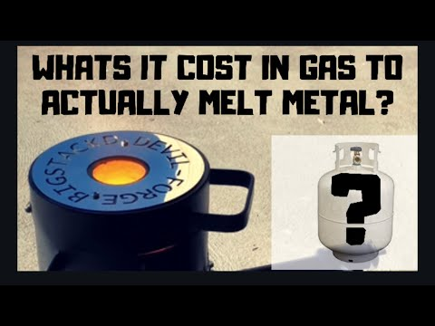 Whats The Exact Cost Of Gas To Melt Metals- Melting Copper & Brass