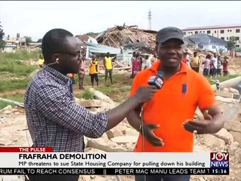 Frafraha Demolition - The Pulse on JoyNews (4-8-17)