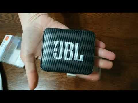 Акустическая система JBL Go 2 Ice Blue (JBLGO2CYAN)