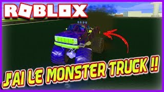 J'AI LE MONSTER TRUCK !! | Roblox Vehicle Simulator