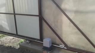 Ворота откатные с автоматикой(, 2016-05-21T06:09:06.000Z)
