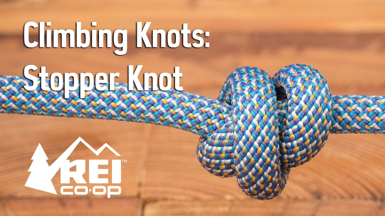 Rock climbing how to tie a stopper knot youtube ccuart Choice Image