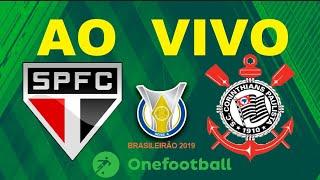 São Paulo X Corinthians Ao Vivo   Brasileirão 2019   Rodada 25   Narração