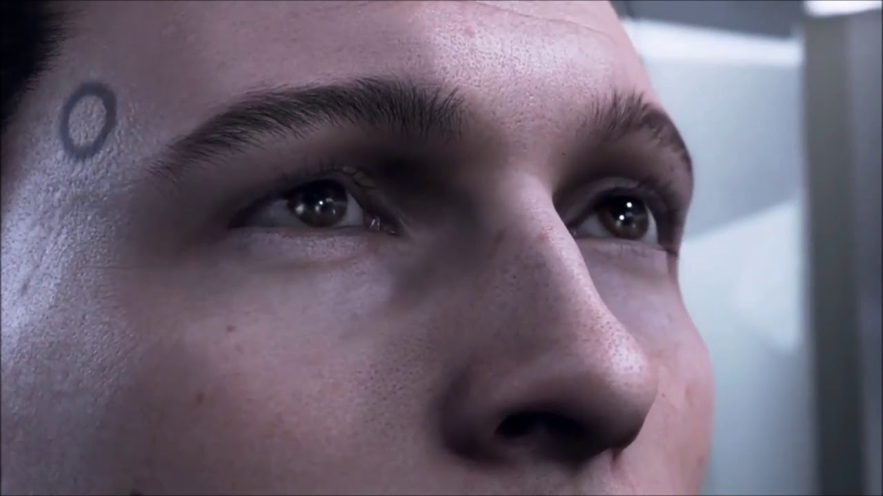 Detroit Become Human Connor Throws The Coin Wallpaper Engine