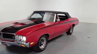 1970 Buick GS 455 Stage 1 Clone Convertible For Sale