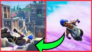 * THE BEST GLITCH! * WE FLY DURING THE ENTIRE MATCH IN THE FORTINGS! : O
