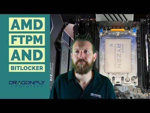Using AMD FTPM with Bitlocker - YouTube