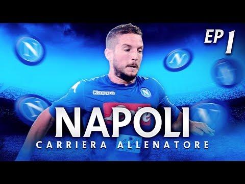 IL TOP PLAYER?! CALCIOMERCATO! NUOVA CARRIERA! | CARRIERA ALLENATORE NAPOLI EP.1 | FIFA 18 [ITA]
