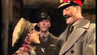 General Melchett visits the troops   Blackadder   BBC   YouTube2