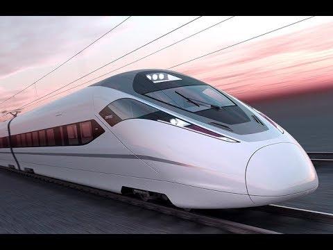 Shenzhen - Guilin high speed train, China