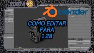 Como Editar Para ETS 1.28/1.30 (Blender)