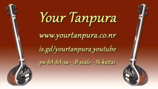 Your Tanpura - .B Scale - 0.75 kattai
