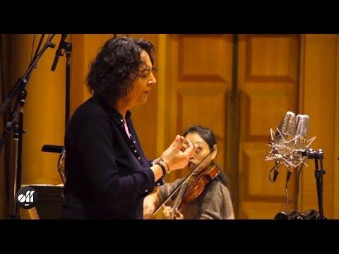 """Nathalie Stutzmann  - Recording Bach aria """"Erbarme dich"""""""
