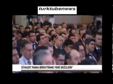 TUSKON Başkanı Rızanur Meral'in Yaptığı Tarihi Yolsuzluk Konuşması