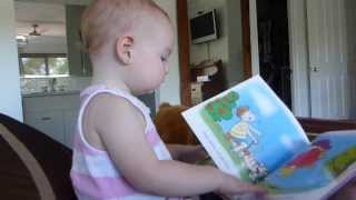 Lily Reads a Book