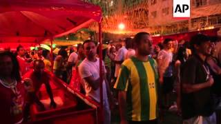 Reaction from Rio as stunned Brazil fans watch Germany take the hosts apart
