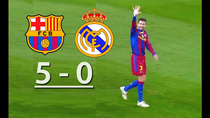 barcelona vs real madrid  50