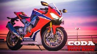 CBR1000RR SP2 Honda Fireblade vs highway traffic + stock exhaust sound - daily ride - CMV