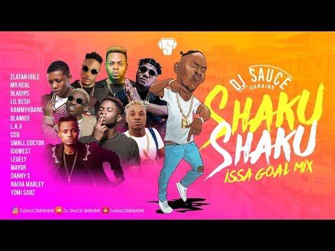 Shaku Shaku Dance Street  Afrobeats Mix I 2018  - DJ SAUCE UKRAINE.