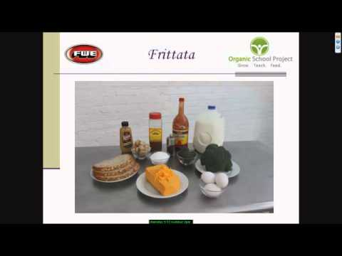 "Topic: Breakfast, Part 1 of 3 - ""Healthy Recipes Made Easy"" Webinar Series"