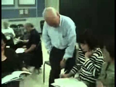 Lớp học thực tập bấm vuốt huyệt chữa bệnh đau nhức - nhà thờ Belanger