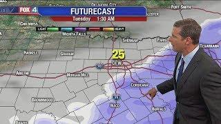 January 15 overnight forecast